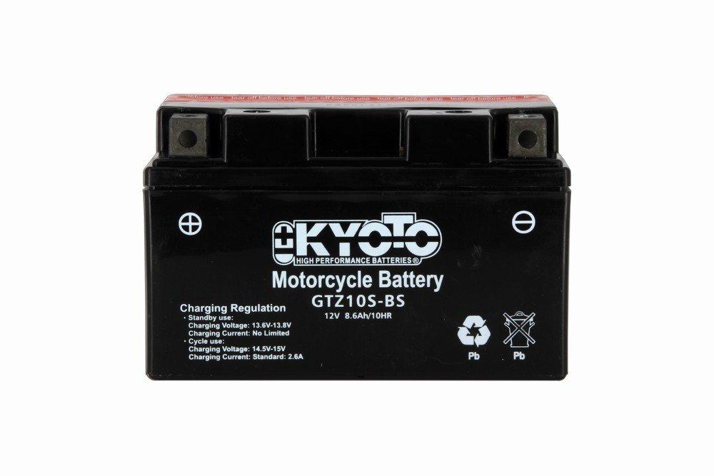 Batterie 12V YTZ10S Kyoto (Etanche sans entretien)