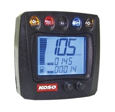 Compteur de vitesse multifonctions KOSO XR-S 01 - Montage universel