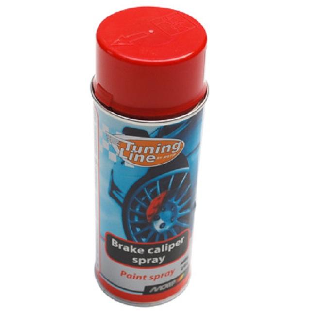 Bombe de peinture MOTIP PRO Rouge 400ml - Gamme ETRIERS