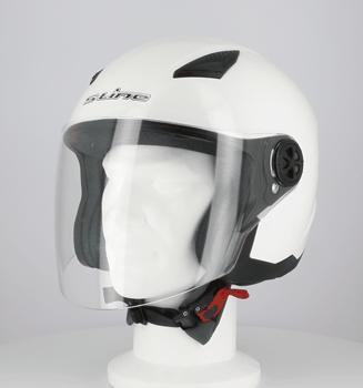 Casque S-LINE Jet S200 Blanc-L