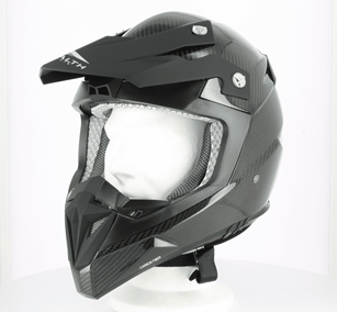 Casque cross STEALTH S810 Carbone-XS