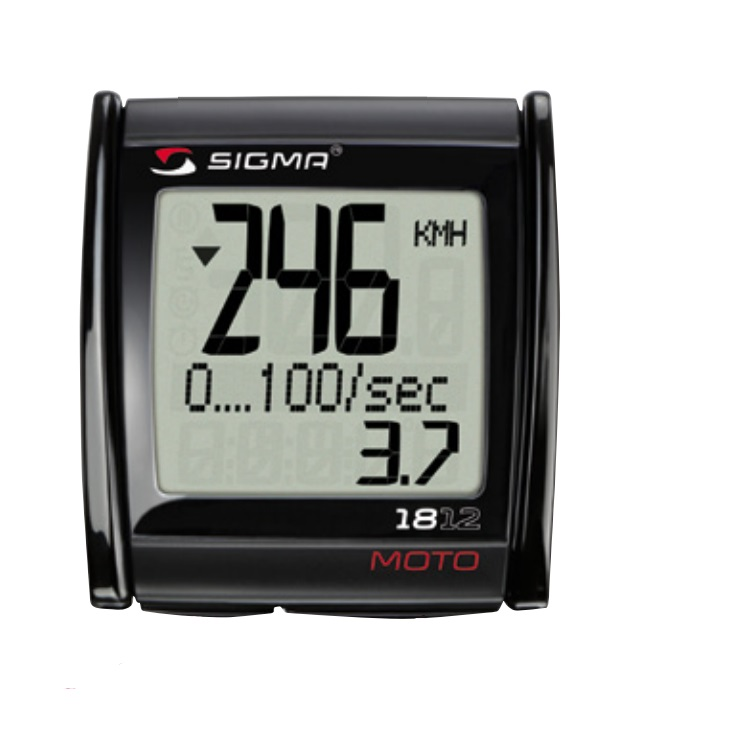 Compteur moto et scooter Sigma MC18.12 Digital