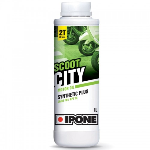 Huile 2T Ipone Scoot CITY Synthetic plus (1L)