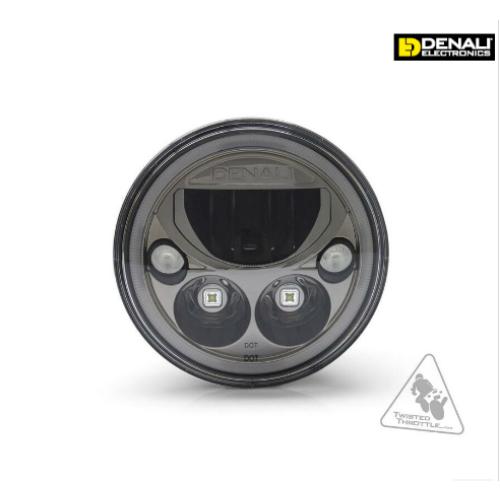 Phare DENALI M7 LED Ø177mm noir chrome