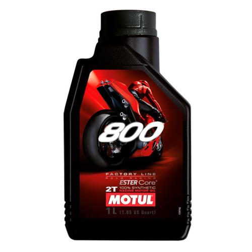 Huile Motul 800 2T Factory Line Road Racing 1L