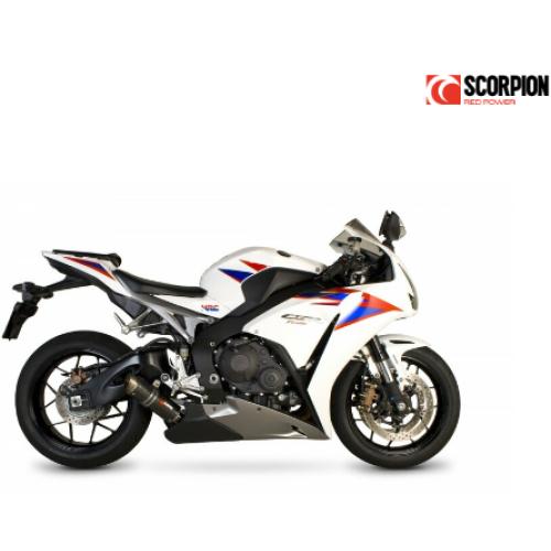 Silencieux SCORPION RP-1 GP carbone titane Honda CBR1000RR