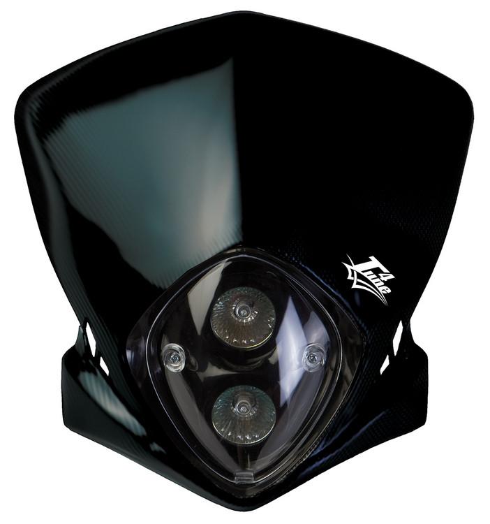 plaque phare racing noir pas cher. Black Bedroom Furniture Sets. Home Design Ideas