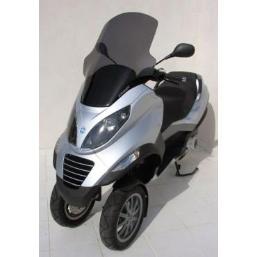 Bulle Piaggio MP3 125 / 250 / 400 ERMAX Haute Protection 74 cm