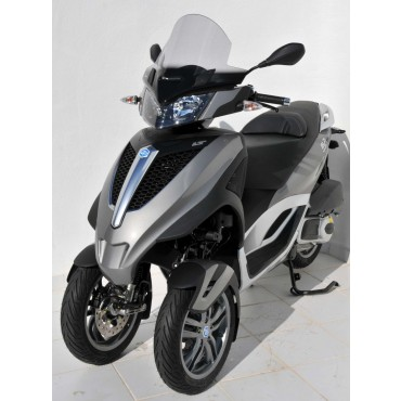 Bulle Piaggio MP3 Yourban 125 / 300 ERMAX Haute Protection 42 cm