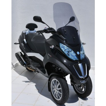 Bulle Piaggio MP3 Touring/Sport/Business 125/300/400/500 ERMAX Haute Protection 72 cm