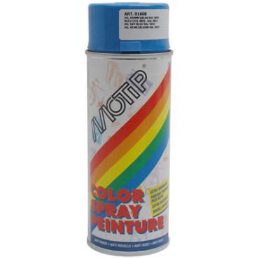 Bombe de peinture MOTIP GLYCERO BRILLANT Bleu Ciel 400ml