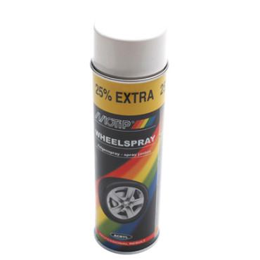 Bombe de peinture MOTIP PRO JANTES Blanc 500ml