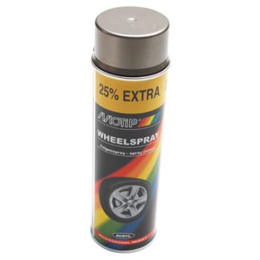 Bombe de peinture MOTIP PRO JANTES Acier 500ml