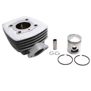 Cylindre Adaptable PEUGEOT 103 Air (Bride+Ecrou)  -Alu Nikasil Airsal-