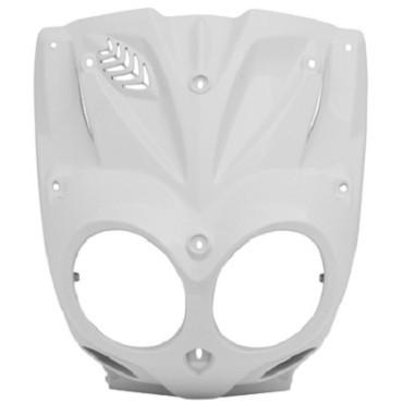 Carenage MBK 50 Stunt / Slider - Face avant (Blanc nacré)