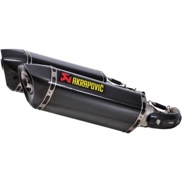Silencieux AKRAPOVIC Ducati MONSTER 696 Carbone