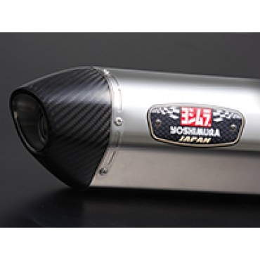 Echappement YOSHIMURA R-77S Street Sport YAMAHA 850 MT-09 TRACER Inox / Carbone (ligne complete)