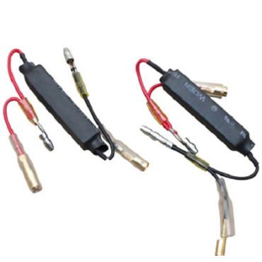 Resistance 10 watts 10 ohms pour clignotants a LED (la paire)
