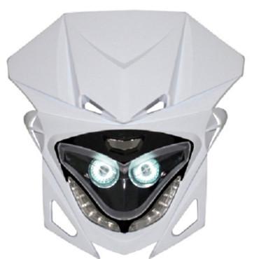 Plaque phare RR8 (Blanc/Noir - Leds blanches)