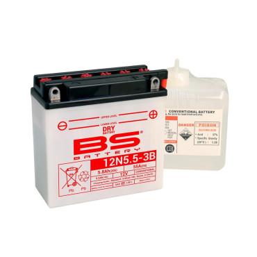 Batterie 12V 12N5.5-3B - BS BATTERY