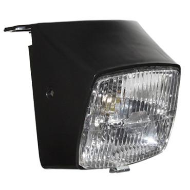 Optique Adaptable PEUGEOT 103 Noir Avec Ampoule 12V 15W