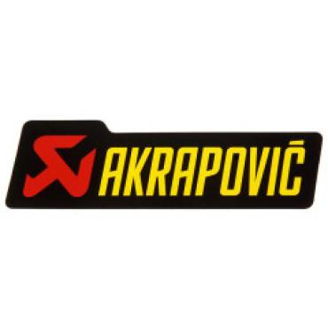 Autocollant Logo AKRAPOVIC