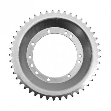 Couronne Adaptable PEUGEOT 103 Roue Rayons 45 Dts (Alesage 94Mm) 11 Trous