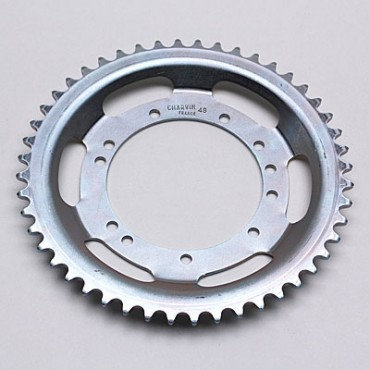 Couronne Adaptable PEUGEOT 103 Roue Rayons 48 Dts (Alesage 94Mm) 11 Trous