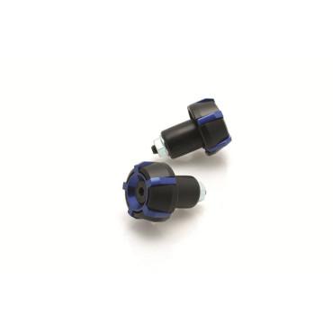 Embout de Guidon D18mm Spark BIHR (Noir/Bleu)
