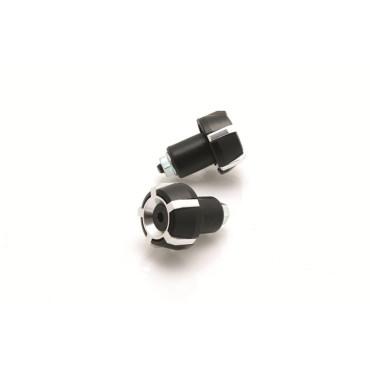 Embout de Guidon D18mm Spark BIHR (Noir/Argent)