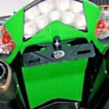 Support de plaque  Kawasaki 1000 ZX-10R Noir - RG RACING