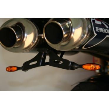 Support de plaque DUCATI 748 / 916 / 996 / 997 Noir - RG RACING