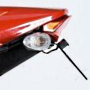 Support de plaque Ducati 1100 Monster Evo Noir - RG RACING