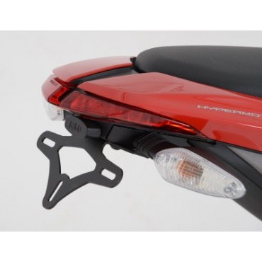 Support de plaque DUCATI 939 HYPERMOTARD Noir - RG RACING