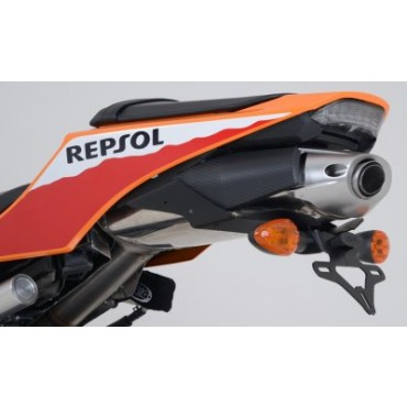 Support de plaque Honda 600 CBR600RR Noir  - RG RACING