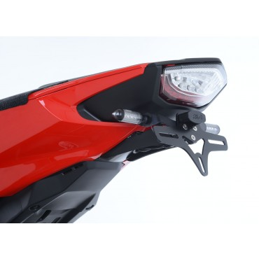 Support de plaque HONDA 1000 CBR FIREBLADE 2017 Noir  - RG RACING