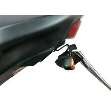 Support de plaque Honda 650 CB650F Noir - RG RACING
