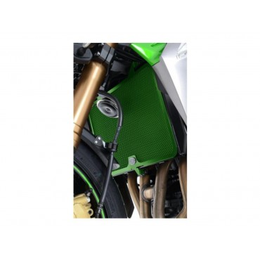 Grille de radiateur Alu Kawasaki 750 / 800 / 1000 Z Vert RG