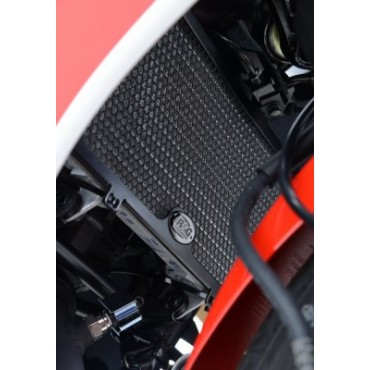 Grille de radiateur Alu HONDA 300 CBR R Noir RG