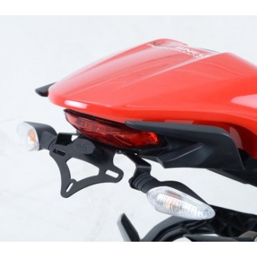 Support de plaque Ducati 821 / 1200 Monster Noir - RG RACING