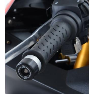 Embout de Guidon APRILIA 1000 RS4 RF / RR R&G Noir