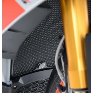 Grille de radiateur Alu APRILIA 1000 RSV4 RF / RR Noir RG