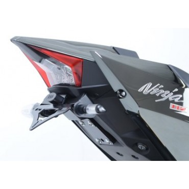 Support de plaque KAWASAKI 1000 H2 / H2R NINJA Noir - RG RACING