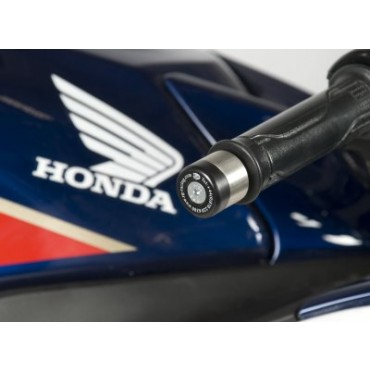 Embout de Guidon HONDA 125 CBF / CBR R / 1200 VFR R&G Noir
