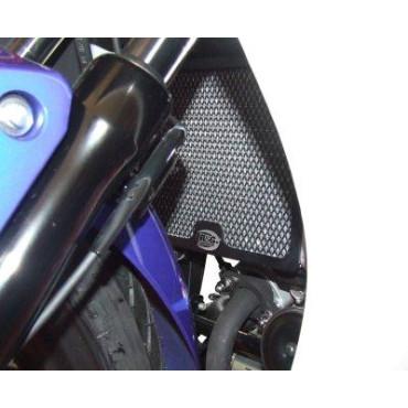 Grille de radiateur Alu HONDA 125 CBR R Noir RG