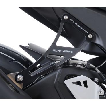 Patte de fixation Silencieux KAWASAKI 1000 ZX-10R Noir RG RACING