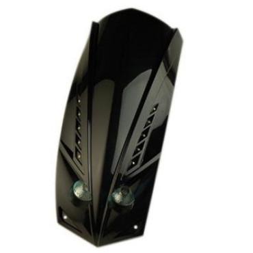 Optique de phare Ludix LED avec tablier 2x20W (Noir)