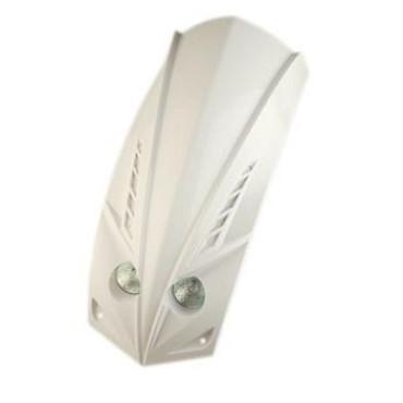 Optique de phare Ludix LED avec tablier 2x20W (Blanc)