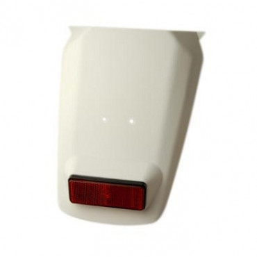 Bavette arriere MBK 50 Booster 2004- Blanche
