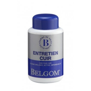 Cire BELGOM ENTRETIEN CUIR 250ml